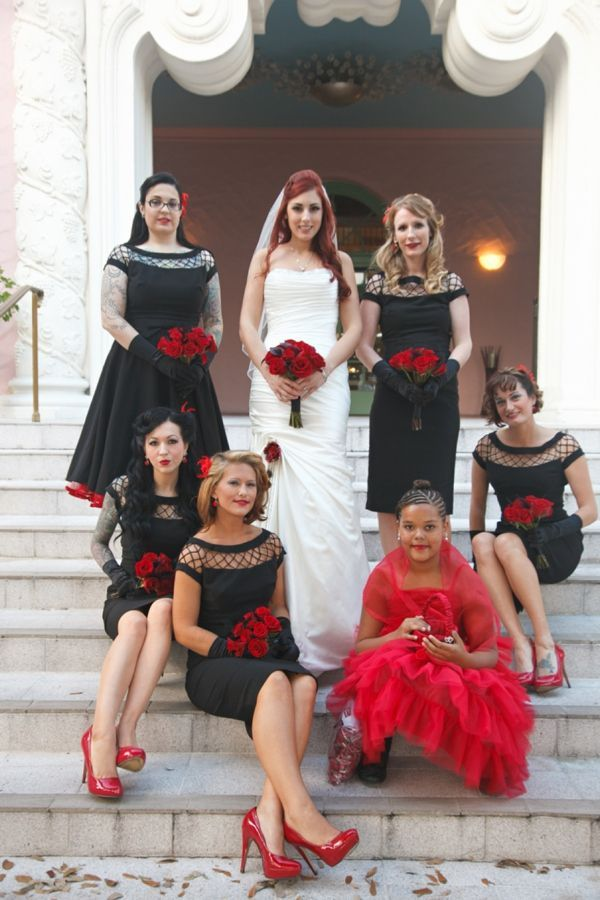 novia-y-damas-de-honor-halloween